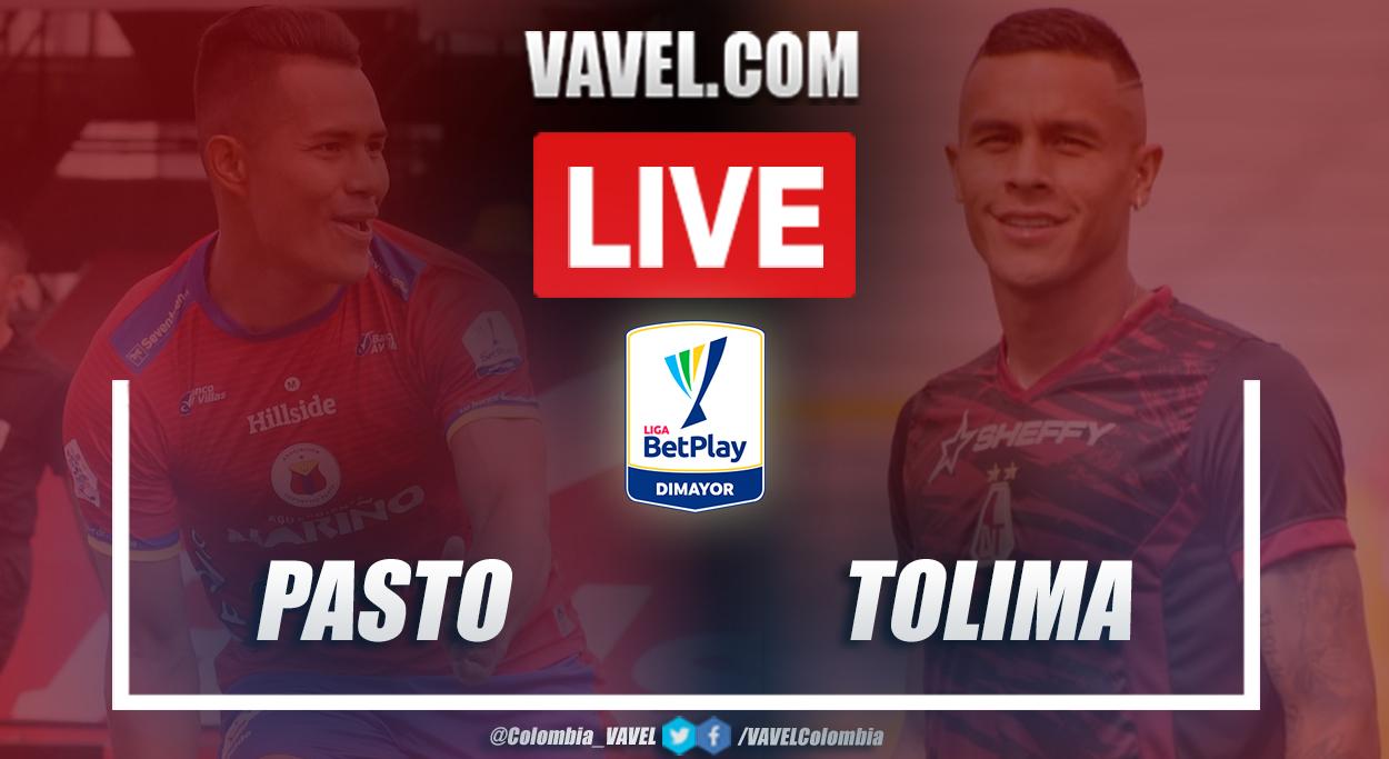 Resumen Pasto vs Tolima (0-1) en la fecha 6 por Liga BetPlay 2021-I