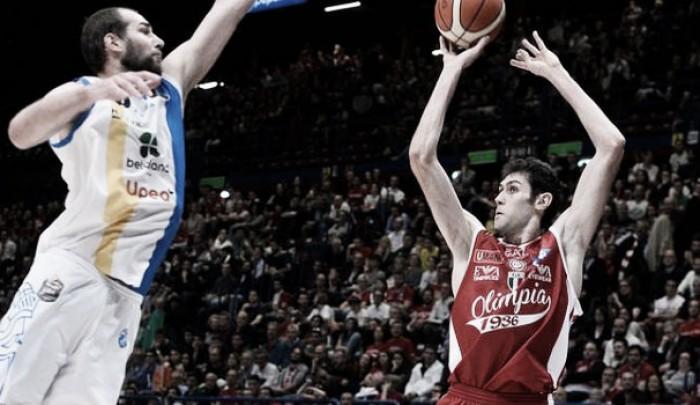 Legabasket Serie A - Milano completa la rimonta, Capo d'Orlando esce tra gli applausi