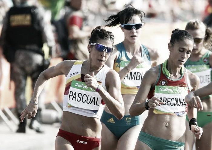 El tercer diploma de Pascual; el primero del atletismo español
