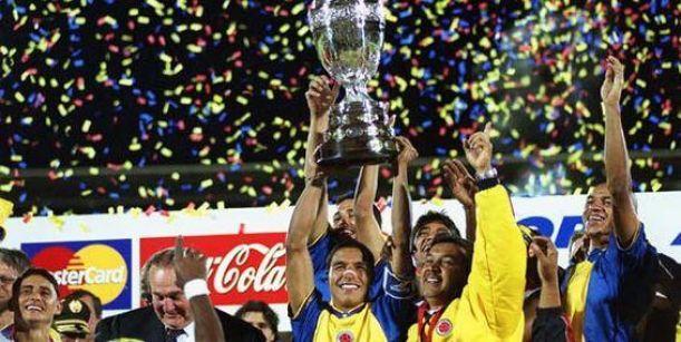 La particular Copa América de Colombia 2001