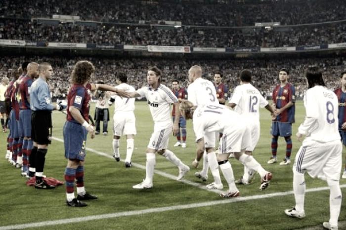De 'paseo' por los últimos pasillos entre Madrid y Barça