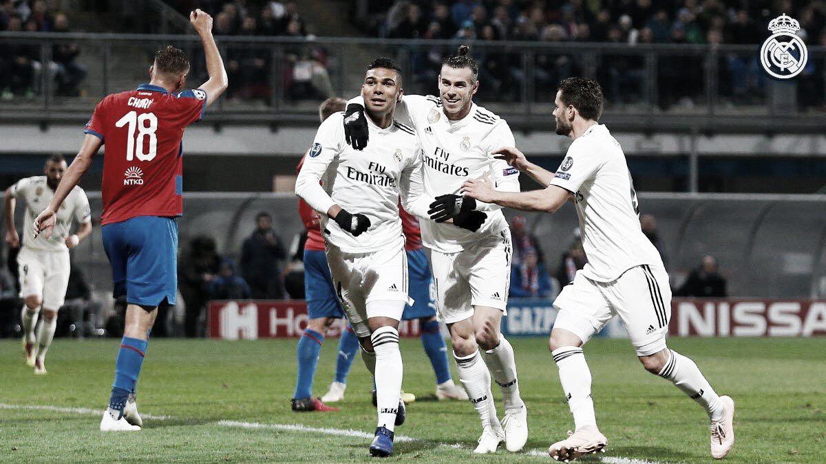Para ganhar moral: Real Madrid massacra Plzen pela Champions League
