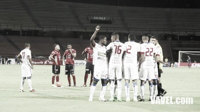 Medellín perdió de visita ante el Deportivo Pasto