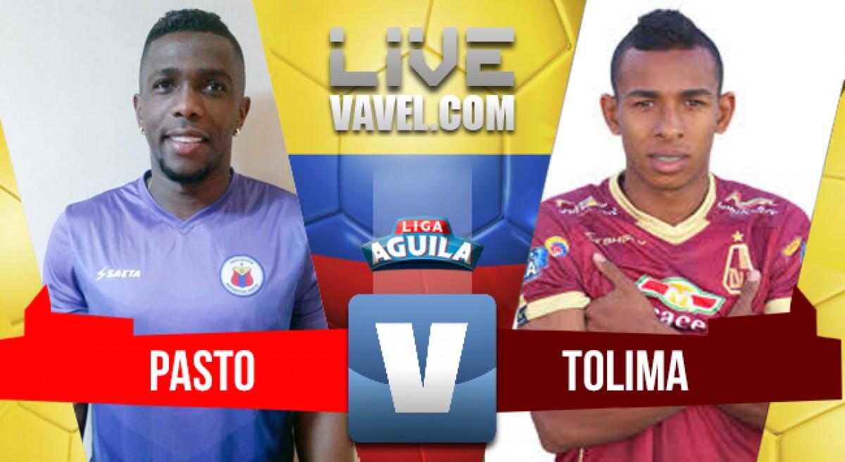 Deportivo Pasto vs Deportes Tolima en vivo y en directo online