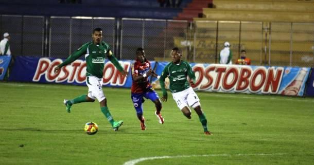 Resultado Pasto - Cali en la Liga Postobón 2013 (1-1)