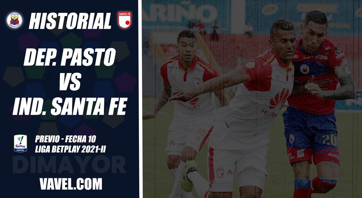 Historial Deportivo Pasto vs. Santa Fe: ventaja 'cardenal'
