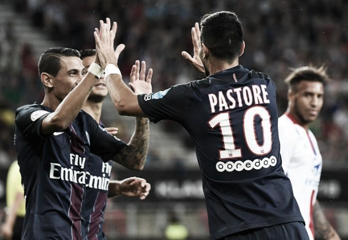 Pastore revela que oferecerá a camisa 10 do PSG para Neymar