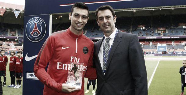 Javier Pastore, elegido como mejor jugador en el mes de abril