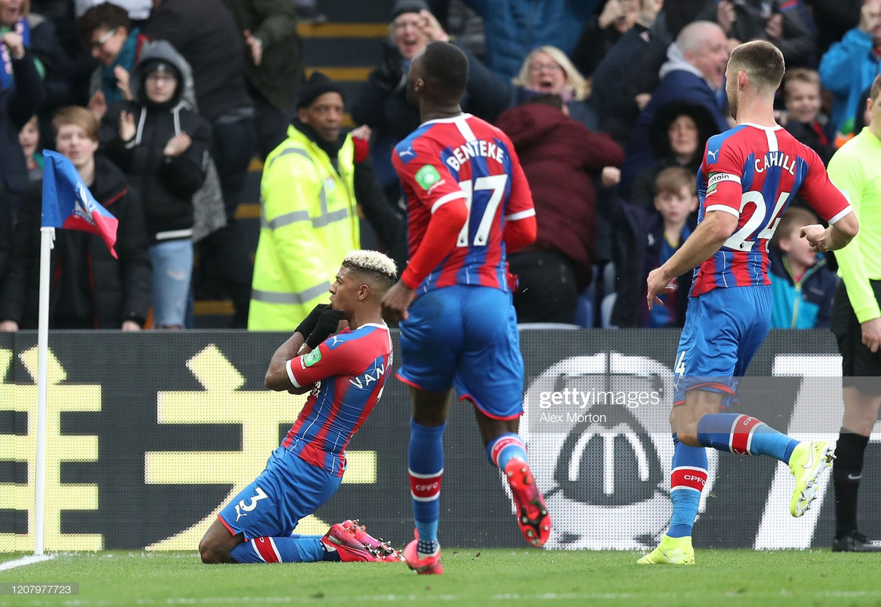 Will a win against Brighton make it a good season for Crystal Palace ?