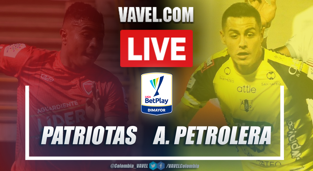 Resumen Patriotas vs Alianza Petrolera (3-1) por Liga Betplay 2021-I