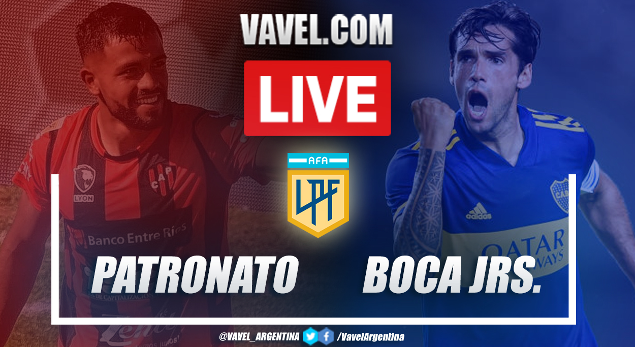 Resumen Patronato vs Boca (1-0) en la fecha 13 por Copa de la Liga Profesional 2021