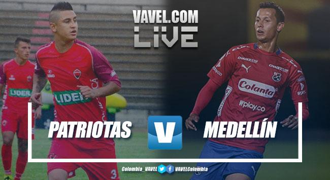 Resumen Patriotas vs Independiente Medellín (0-3)