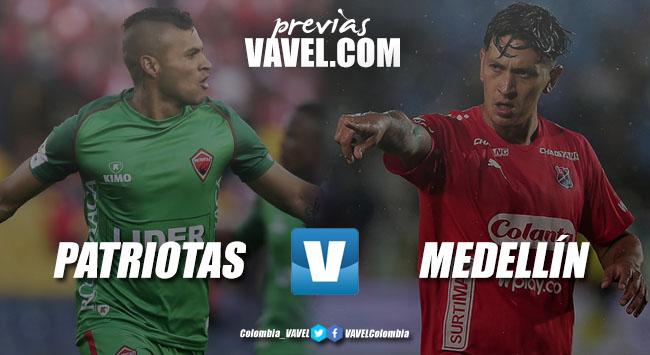 Previa Patriotas vs Independiente Medellín: duelo por el renacimiento
