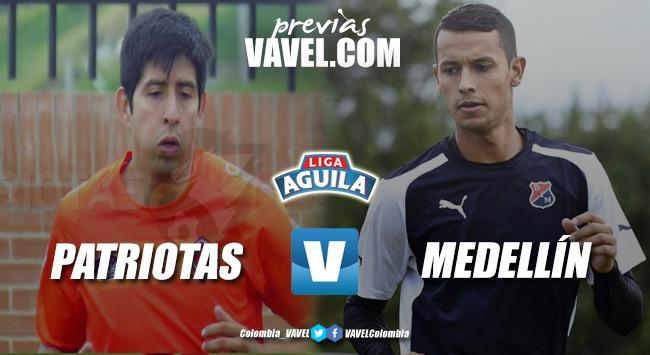 Previa Medellín vs Patriotas: se abre el telón de la Liga Águila 2019-I