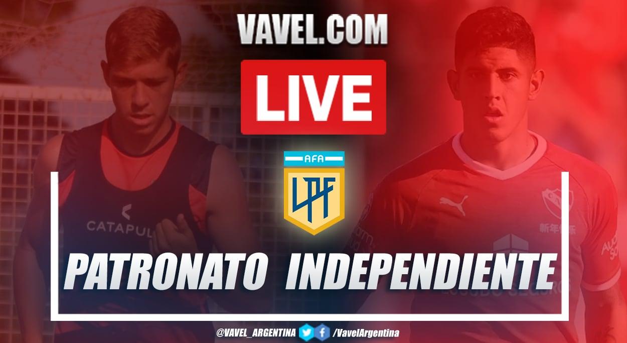Resumen Patronato vs Independiente (0-1) en la fecha 1 por Copa de la Liga Profesional 2021