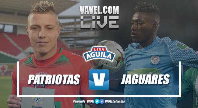 Resumen Patriotas Boyacá vs Jaguares de Córdoba por la Liga Águila 2019 (2-1)