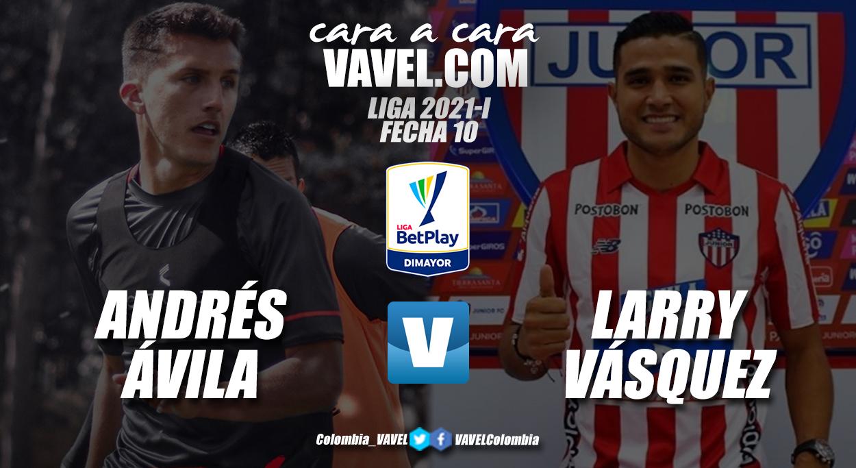 Cara a cara: Andrés Felipe Ávila vs Larry Vásquez