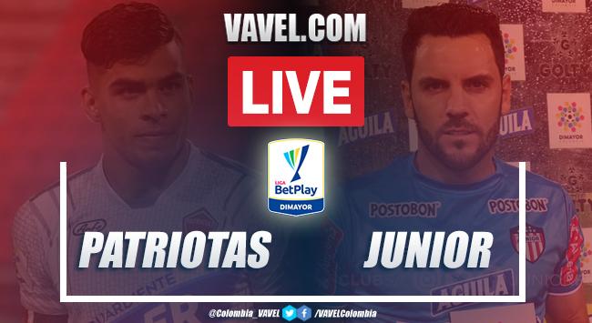 Resumen Patriotas Vs Junior 0 0 Por La Liga Betplay 05 10 2020 Vavel Colombia