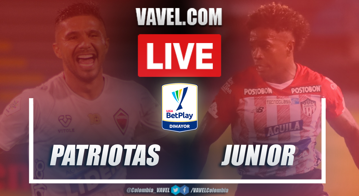 Resumen Patriotas vs Junior (1-0) en la fecha 10 por Liga BetPlay 2021-I