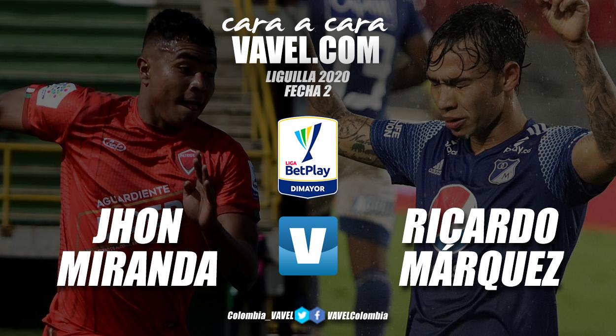 Cara a cara: Jhon Fredy Miranda vs Ricardo Márquez