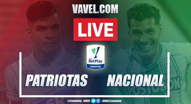 Resumen: Patriotas vs Nacional (2-1) por Liga BetPlay