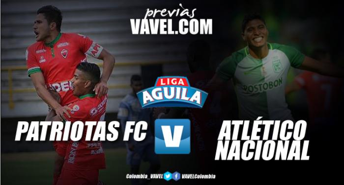 Atlético Nacional venció 1-0 a Patriotas en el estadio La Independencia