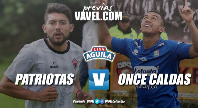 Previa Patriotas Boyacá vs Once Caldas: los 'boyacenses' van por su segunda victoria