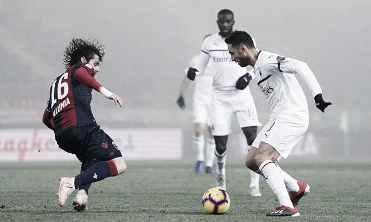 Teste de paciência: em jogo morno, Milan não sai do zero com o Bologna