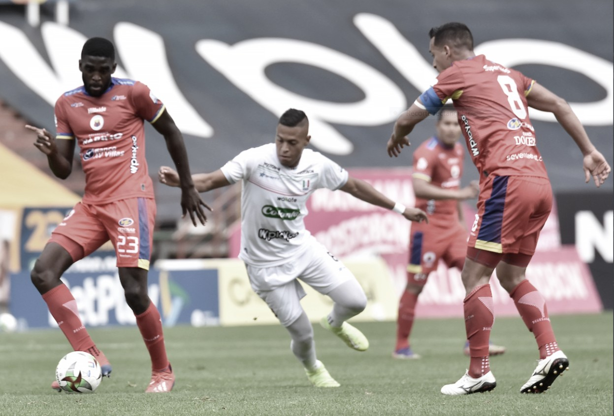 Once Caldas perdió por la mínima diferencia ante Deportivo Pasto