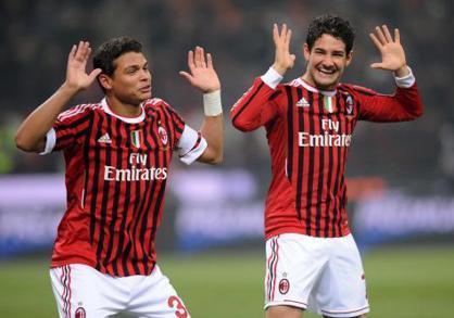 Pato e Thiago, gioie rossonere