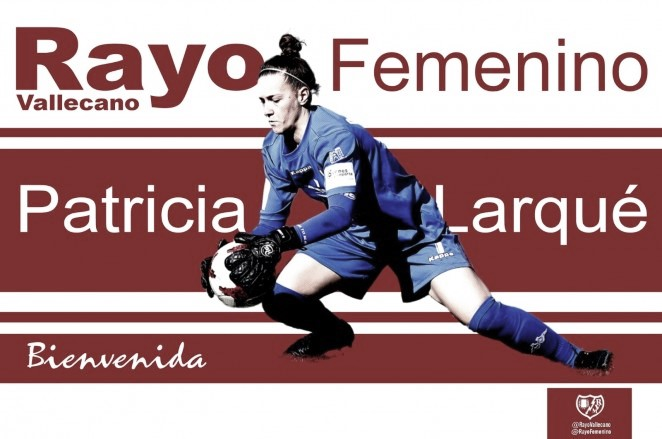 Patricia Larqué, nueva incorporación del Rayo Femenino
