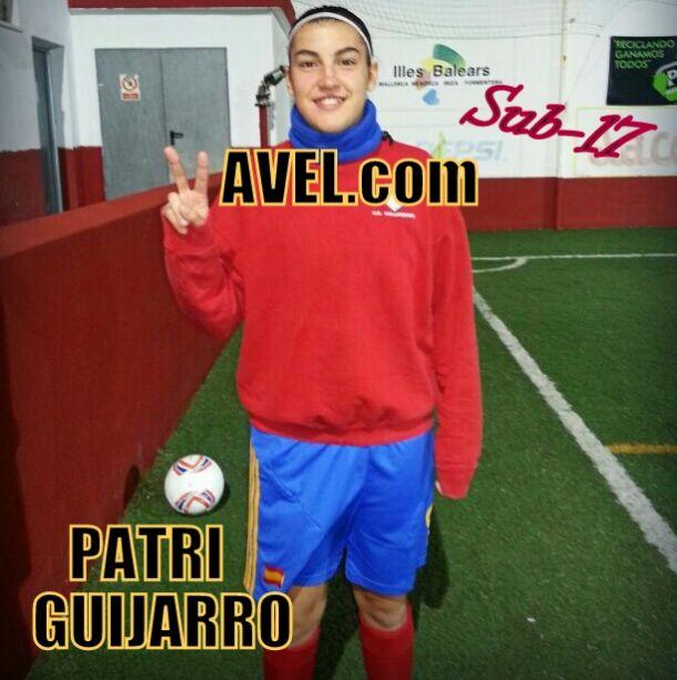 Entrevista especial Europeo sub-17: Patri Guijarro