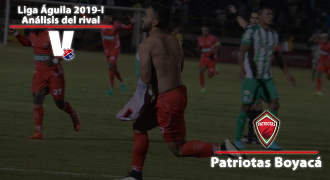 Patriotas Boyacá: el primer rival del poderoso en la Liga Aguila
