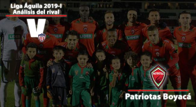 Junior de Barranquilla, análisis del rival: Patriotas Boyacá