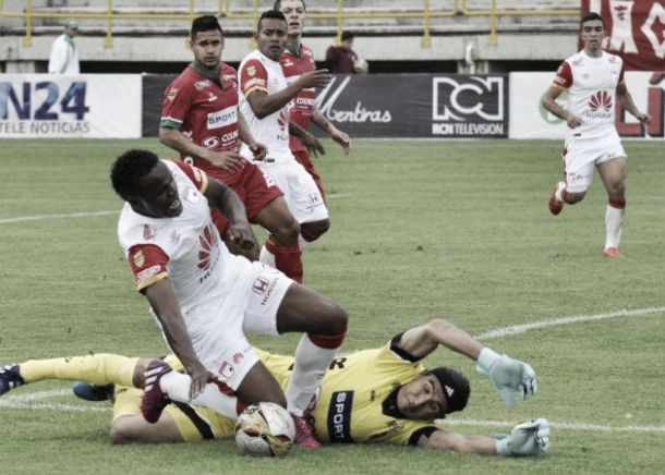 Empate sin goles y poco fútbol en Tunja