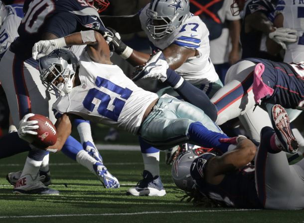 Starter To Free Agent In Two Weeks: Dallas Cowboys Release Halfback Joseph Randle