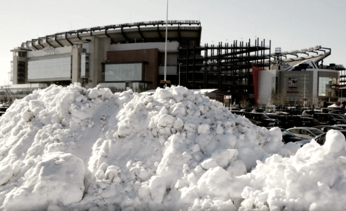 Super Bowl LII: estadio cubierto, pero mucho frío fuera