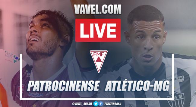Gols e melhores momentos Patrocinense 1x3 Atlético-MGpelo Campeonato Mineiro