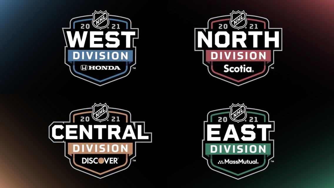 Patrocinadores para las divisiones de la NHL