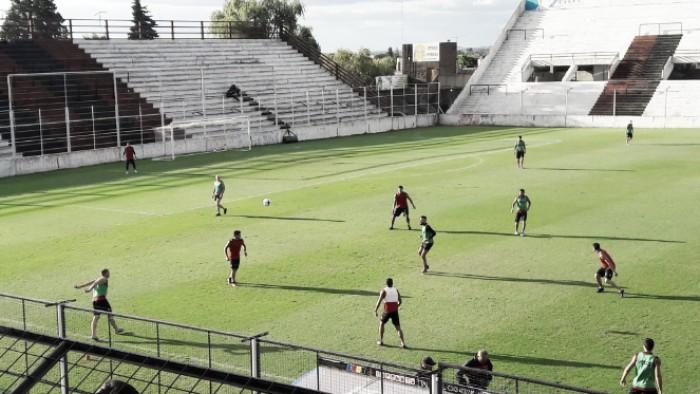 Últimos retoques de cara al partido con Estudiantes