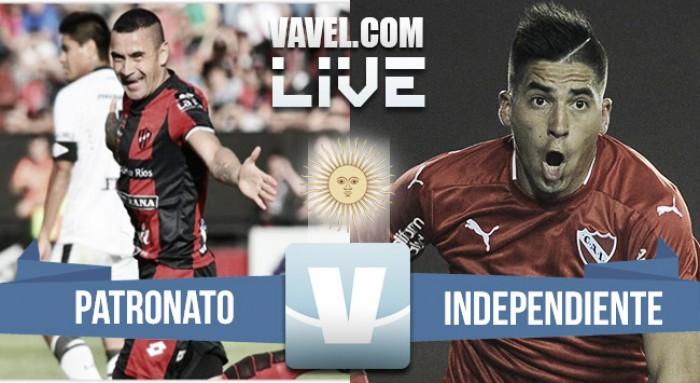Patronato vs Independiente en vivo online (0-5)