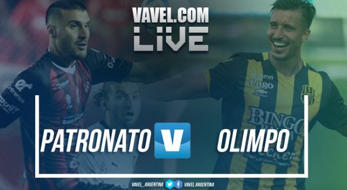 Patronato vs Olimpo en vivo online por Superliga Argentina 2017 (1-0)