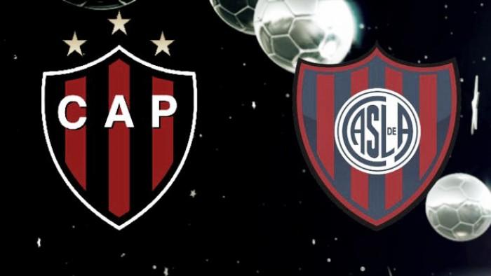 Resultado Patronato - San Lorenzo (2-2)