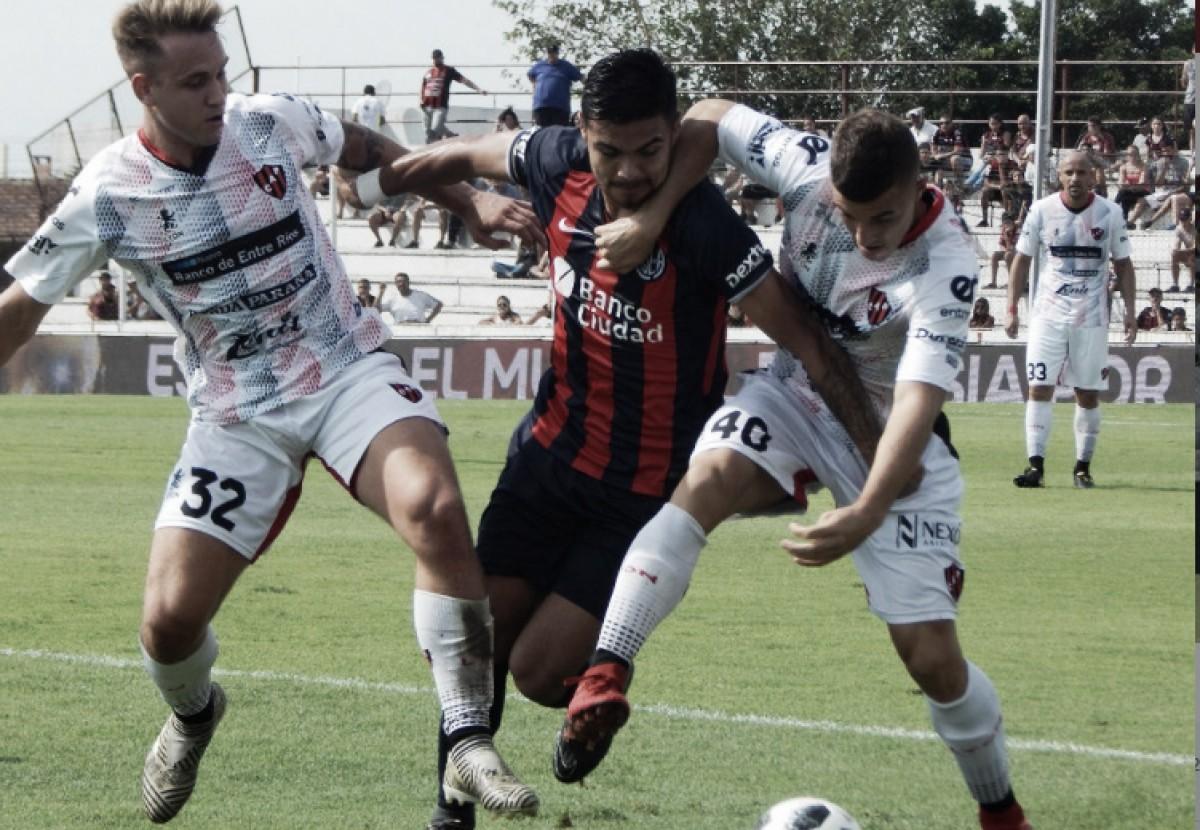 San Lorenzo y Patronato no se hacen daño y empatan a cero