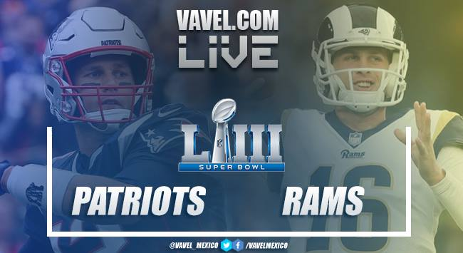 Resultado Los Angeles Rams 3x13 New England Patriots na Super Bowl 2019
