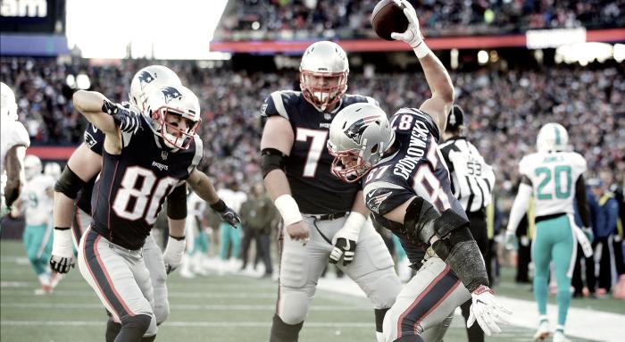 Séptima victoria consecutiva para los Patriots