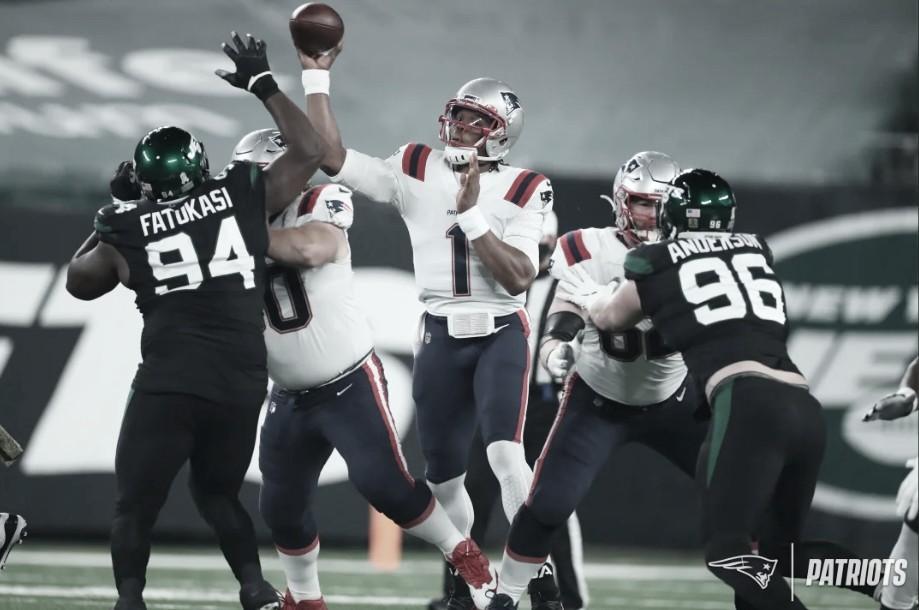Patriots vencem no fim e mantém NY Jets sem vitórias na temporada da NFL
