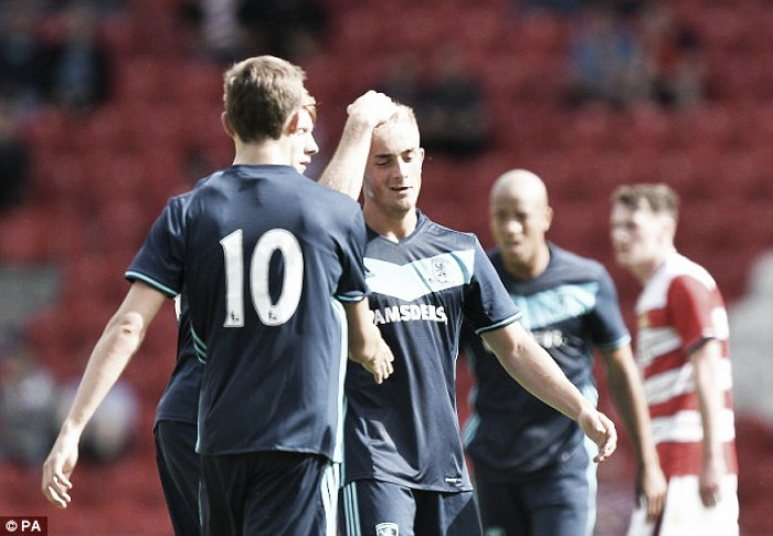 Doncaster Rovers 0-2 Middlesbrough: Downing and Pattison fire Boro to victory