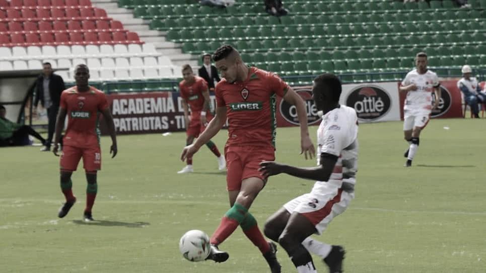 Cúcuta Deportivo y un partido para olvidar tras caer ante Patriotas Boyacá
