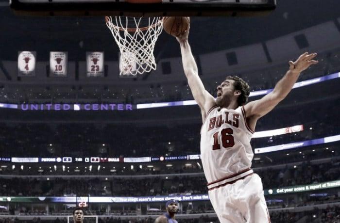 NBA: Gasol trascina Chicago, show di Walker per Charlotte contro Utah